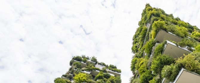 Skyscraper named Vertical Forest in Milan