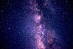 Space milky way