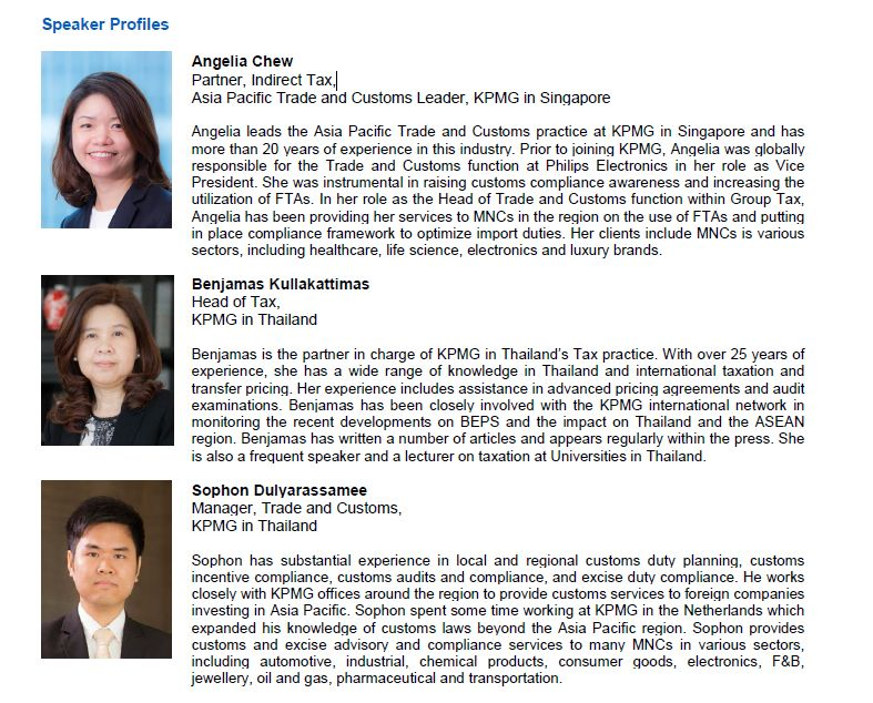 KPMG Forum for Foreign Investors