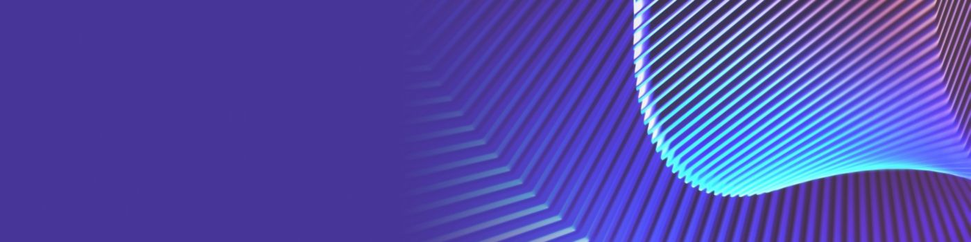 curved texture on purple background