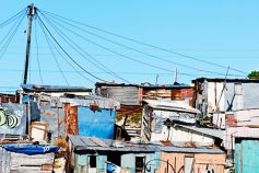 squatter camp near cape town