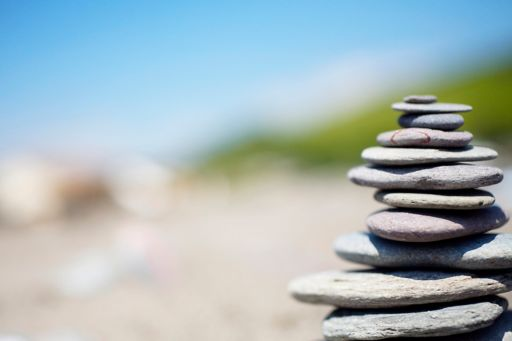 Stacked rock