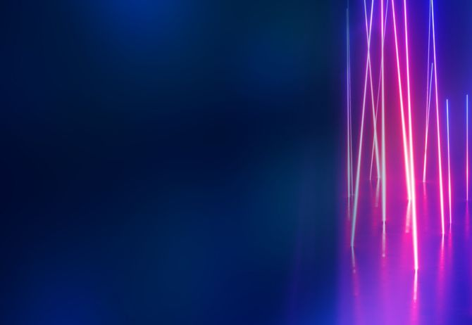 Dark blue texture image with pink light