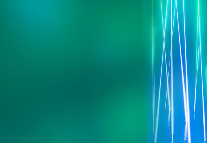 green texture with blue lights