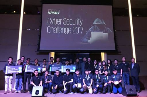 Teams 555+ and CPCUCTF took second and third places respectively at KPMG Cyber Security 2017 in Malaysia