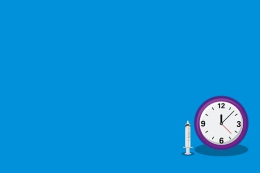 Licencing pressure means Brexit clock ticking for UK pharma - syringe with purple clock