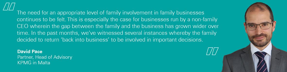 The Impact of COVID-19 on family businesses David Pace