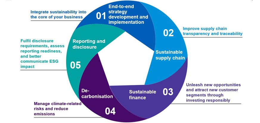 Five ways KPMG helps you achieve your sustainability goals