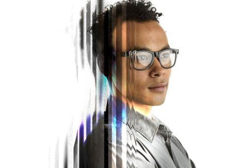 Young male professional wearing glasses