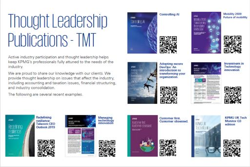 Global Thought Leadership Pack - October 2019