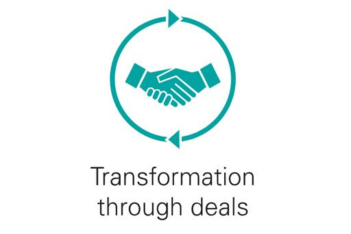 Transformation through deals