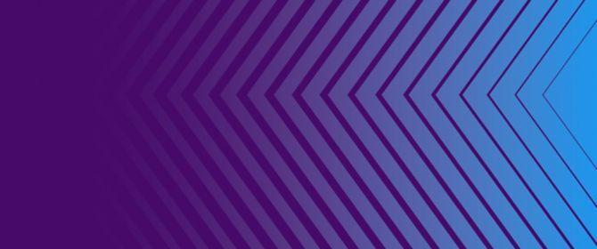 blue and purple abstract triangle