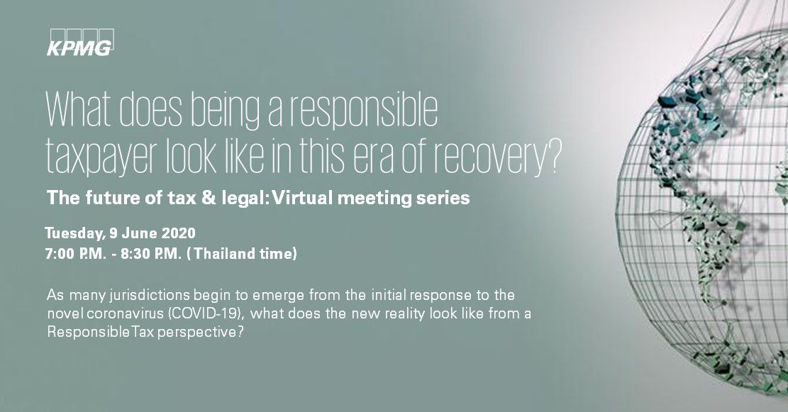 What does being a responsible taxpayer look like in this era of recovery?'