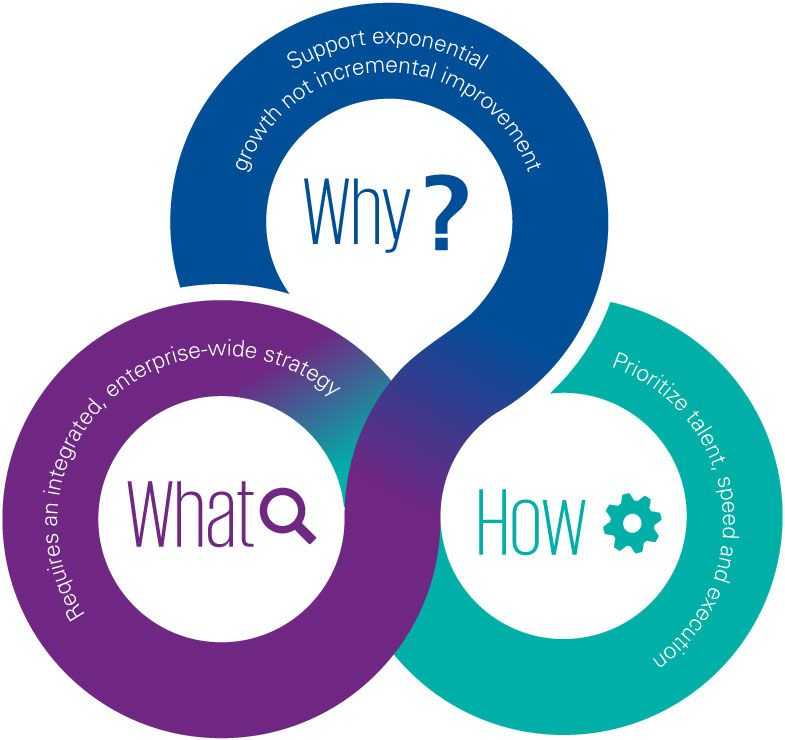 What, why and how - chart