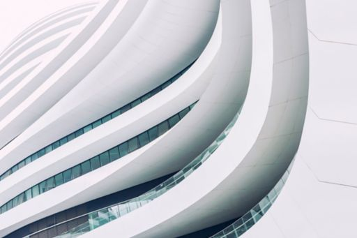 white clean building