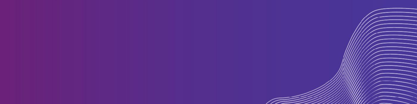 White lines against purple background