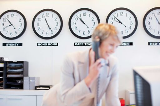 Woman talking to phone