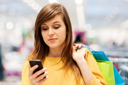 young-woman-texting